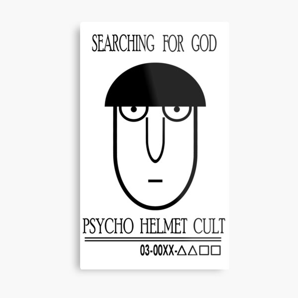 Searching For God || Mob Psycho 100 Metal Print