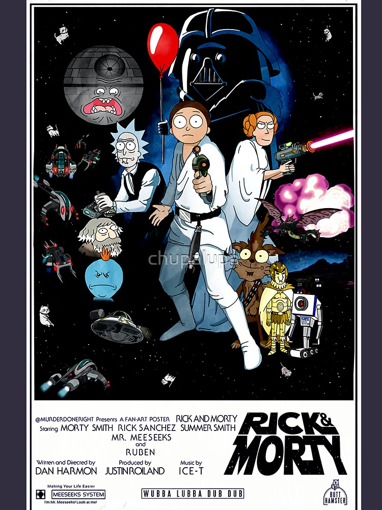 Rick and Morty Wars | Unisex T-Shirt