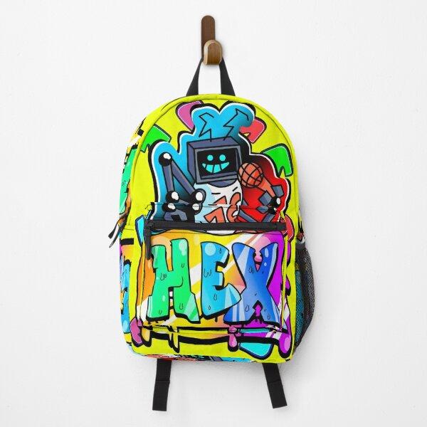 Hex fnf mod character graffiti Backpack