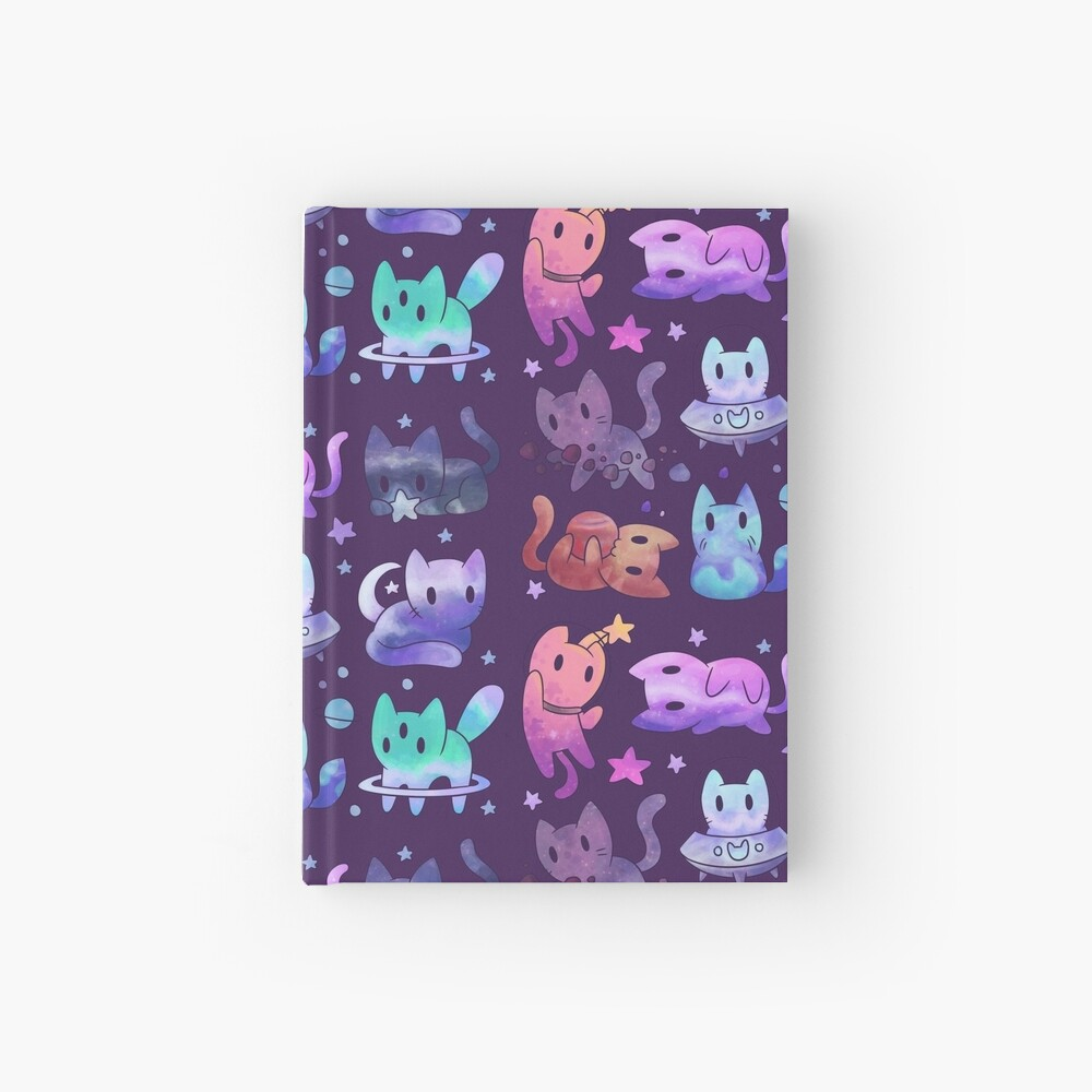 Space Cats Hardcover Journal