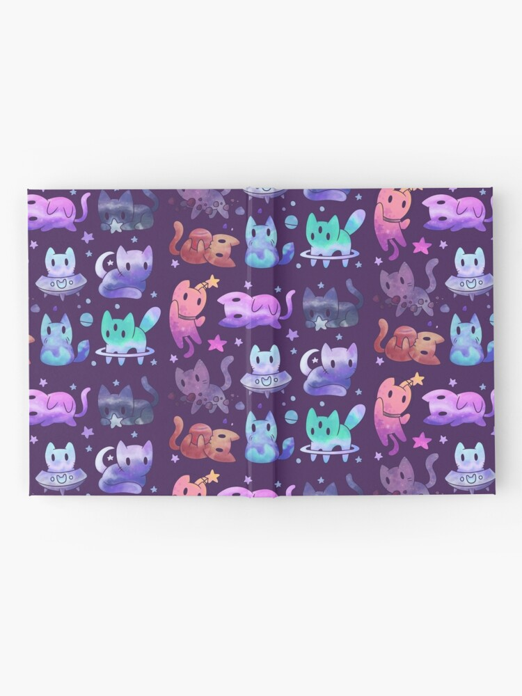 Alternate view of Space Cats Hardcover Journal