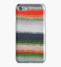 Striped Knit iPhone Case/Skin