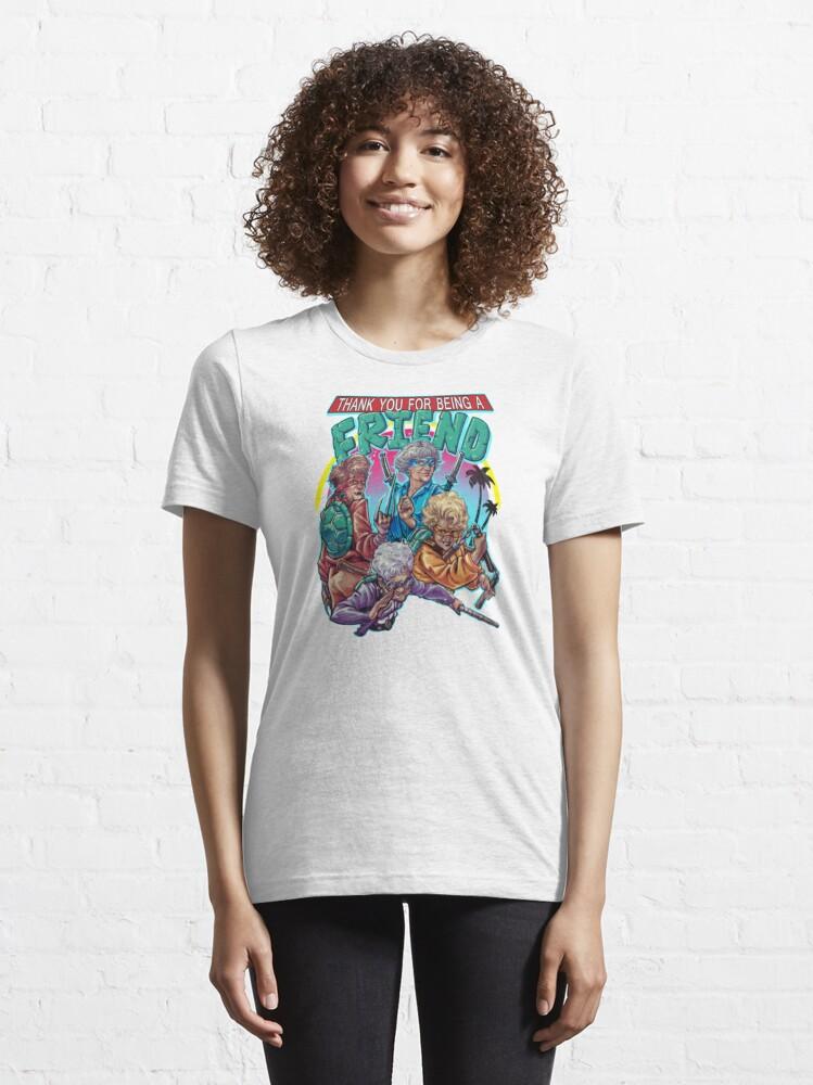 Alternate view of Golden Girls - TMNT Essential T-Shirt