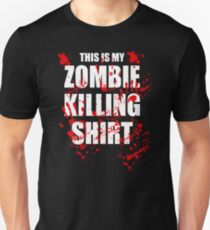 This Is My Zombie Killing Shirt T-Shirt