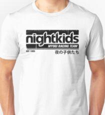 Initial D - NightKids Tee (Black) T-Shirt