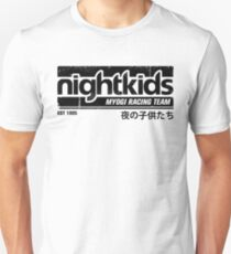 Initial D - NightKids Tee (Black) T-Shirt