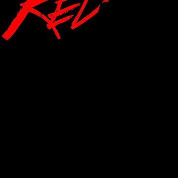 Initial D - RedSuns Tee (Black) by chadzero