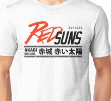 Initial D - RedSuns Tee (Black) Unisex T-Shirt