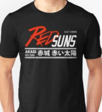 Initial D - RedSuns Tee (White) Unisex T-Shirt