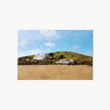 Burgh Island Hotel Art Board Print