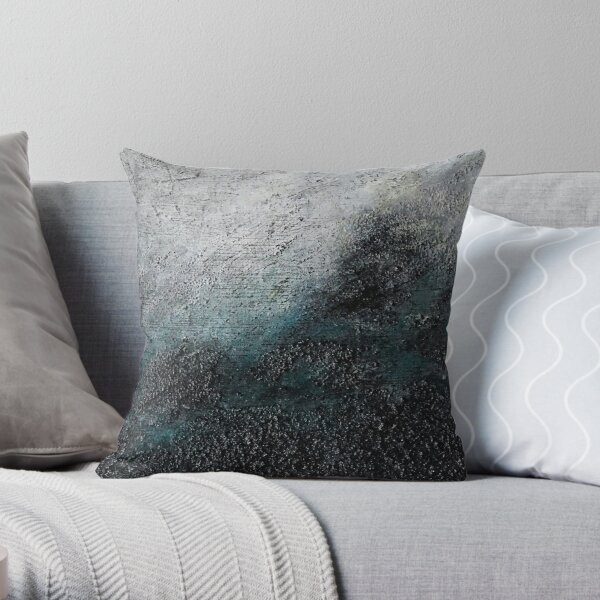Energy 6 / mixed media paintings Throw Pillow