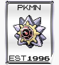 Starmie - OG Pokemon Poster