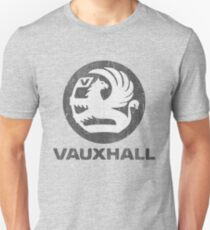 Vauxhall Distressed Badge Unisex T-Shirt