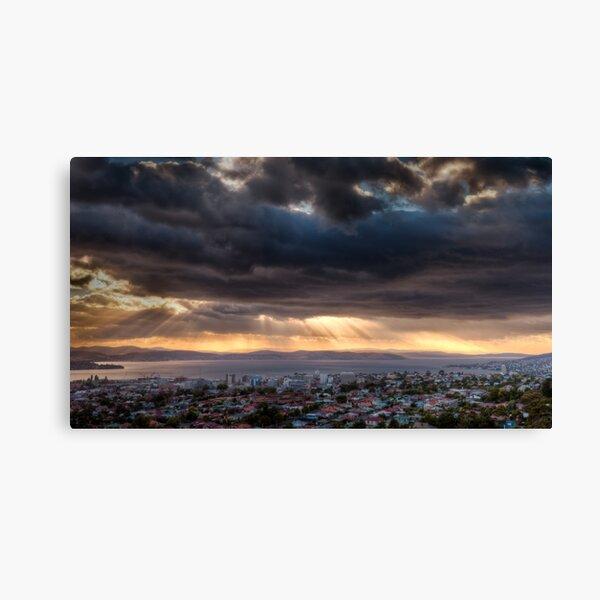 Sunrise from Mount Staurt Canvas Print