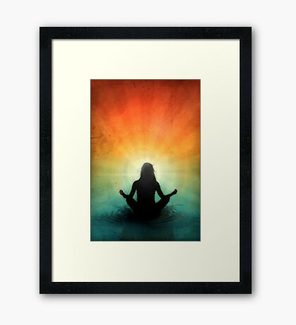 At Peace Within Framed Print