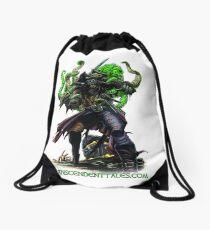 Zombie Pirate 2 Drawstring Bag