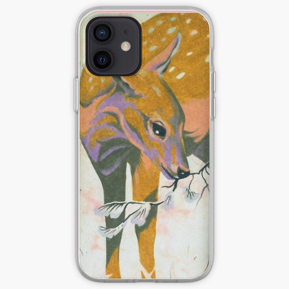 faun, baby deer iPhone Case & Cover