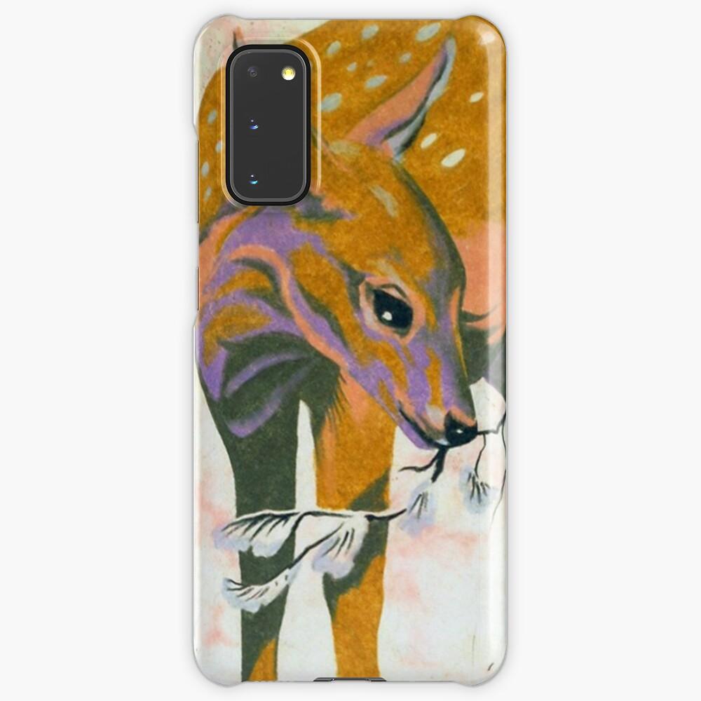faun, baby deer Case & Skin for Samsung Galaxy