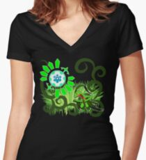 The First Time Gear Women's Fitted V-Neck T-Shirt