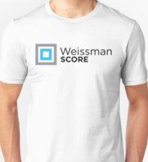 """Silicon Valley """"Weissman Score"""" Unisex T-Shirt"""