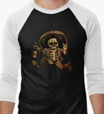 Camiseta ¾ estilo béisbol Posada Día de los muertos fuera de la ley