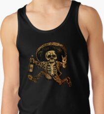 Camiseta de tirantes Posada Día de los muertos fuera de la ley