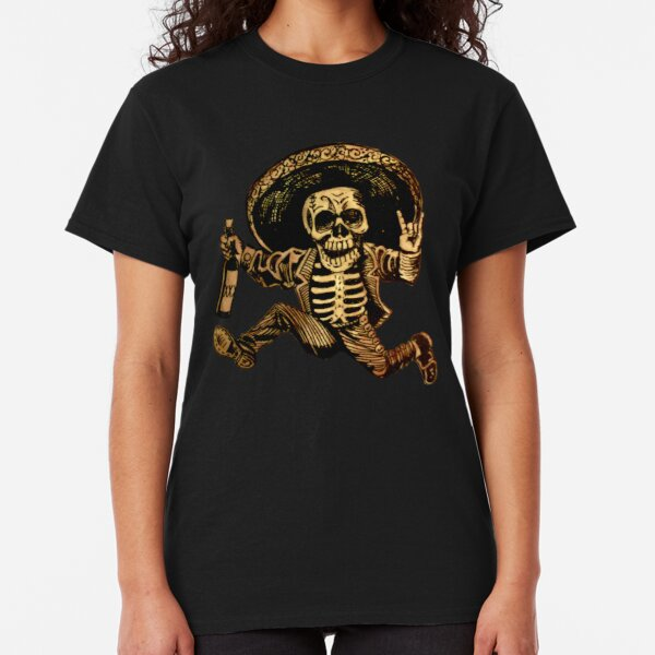 Posada Day of the Dead Outlaw Classic T-Shirt
