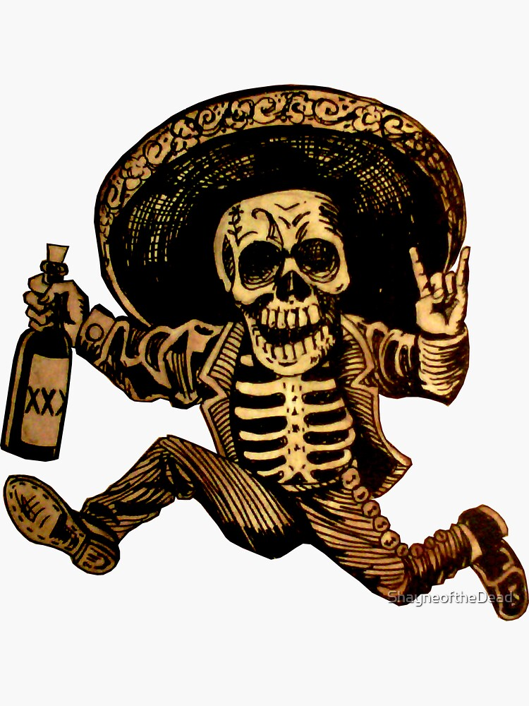 Posada Day of the Dead Outlaw by ShayneoftheDead