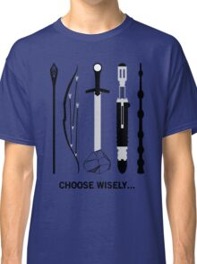 Choose Wisely! (Black Text) Classic T-Shirt
