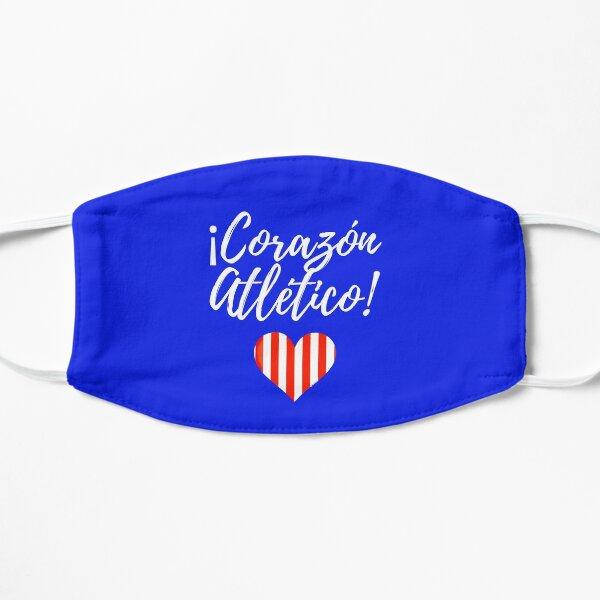 Corazon Atletico Mascarilla plana