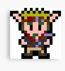 Pixel Jak Canvas Print