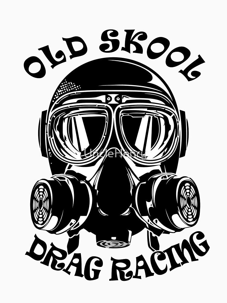 Altes Skool Drag Racing Design von UncleHenry