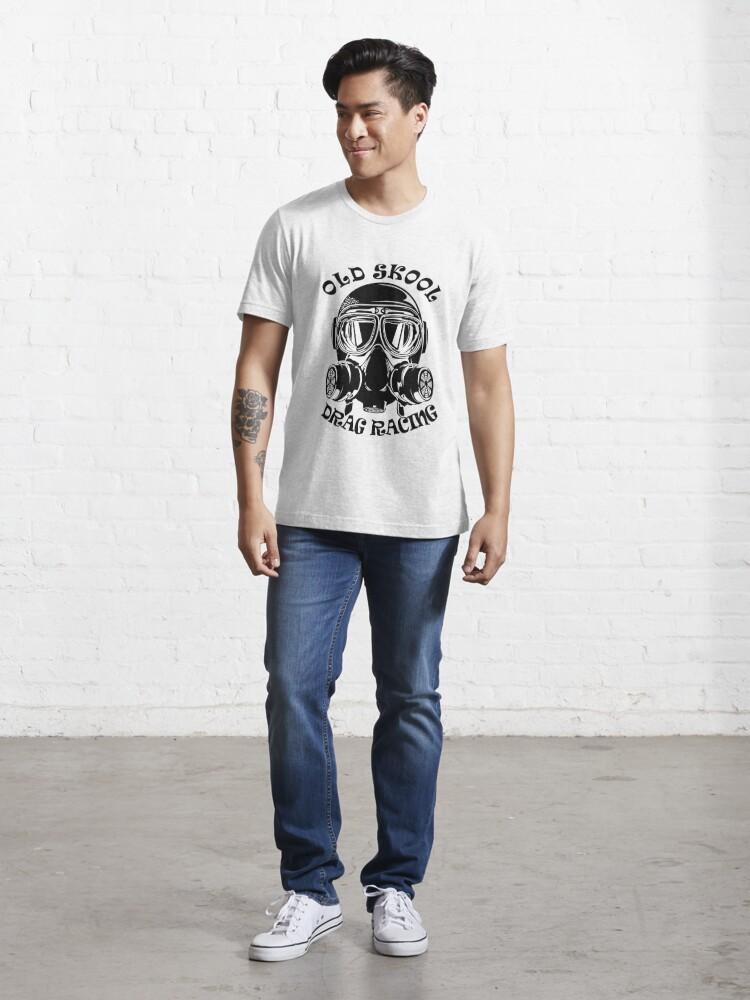 Alternative Ansicht von Altes Skool Drag Racing Design Essential T-Shirt
