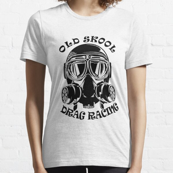 Altes Skool Drag Racing Design Essential T-Shirt
