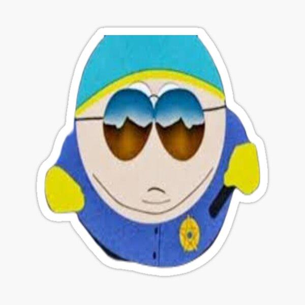 eric cartman respect south park Sticker