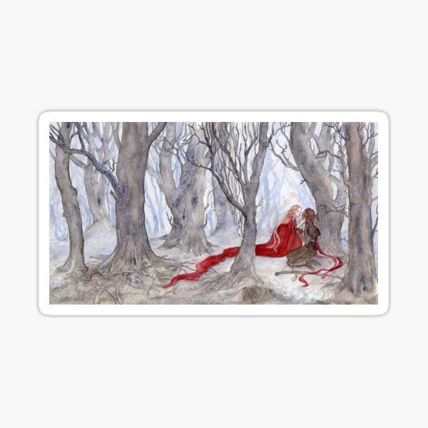 Red Fairy finds Heroine Sticker