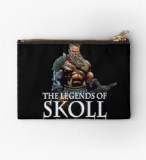 The Legends of Skoll - White Studio Pouch