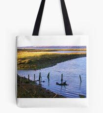 Hayling Oyster Beds Tote Bag