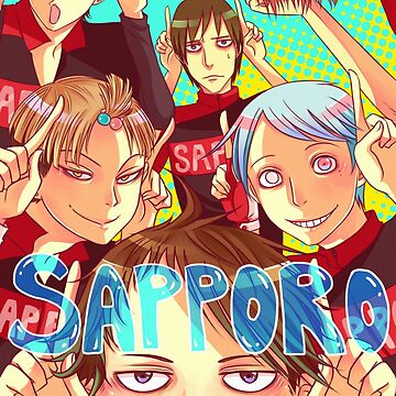 Team Sapporo! by raaawrbin