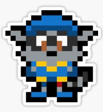 Pixel Sly Cooper Sticker