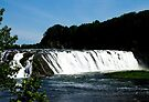 View of Cohoes Falls by ValeriesGallery