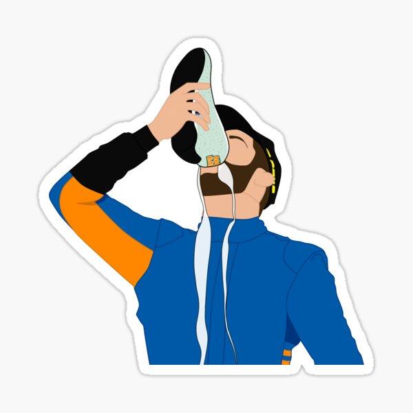 Daniel Ricciardo Shoey 2021 Sticker