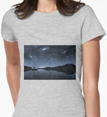 Beneath a jewelled sky Womens Fitted T-Shirt