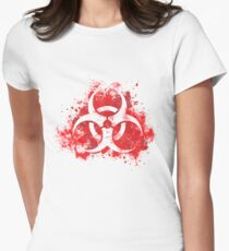 Spread the plague Women's Fitted T-Shirt