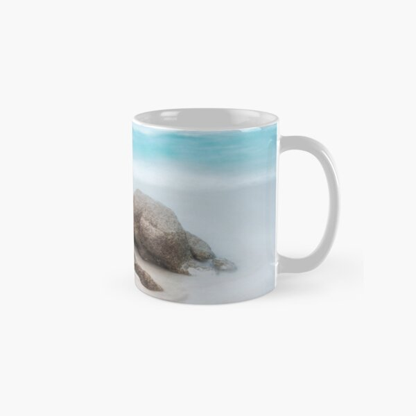 Rock and Waves, Friendly Beaches Classic Mug