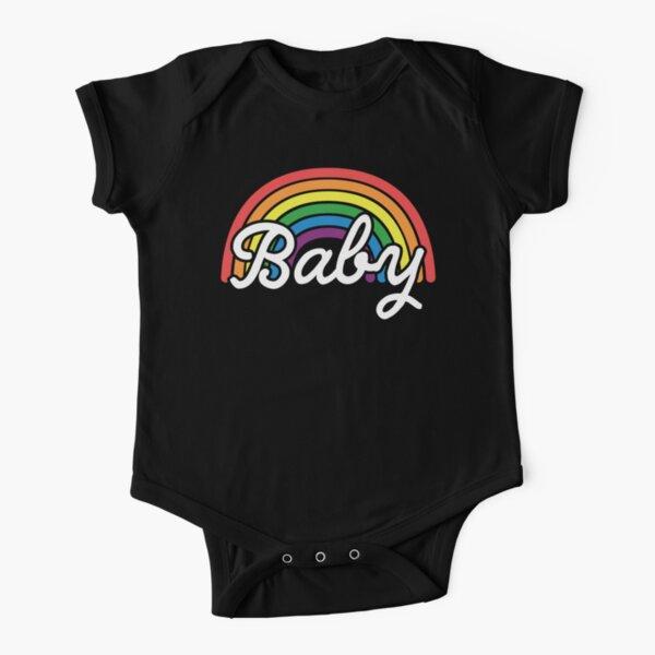Pride Family Rainbow Baby Short Sleeve Baby One-Piece