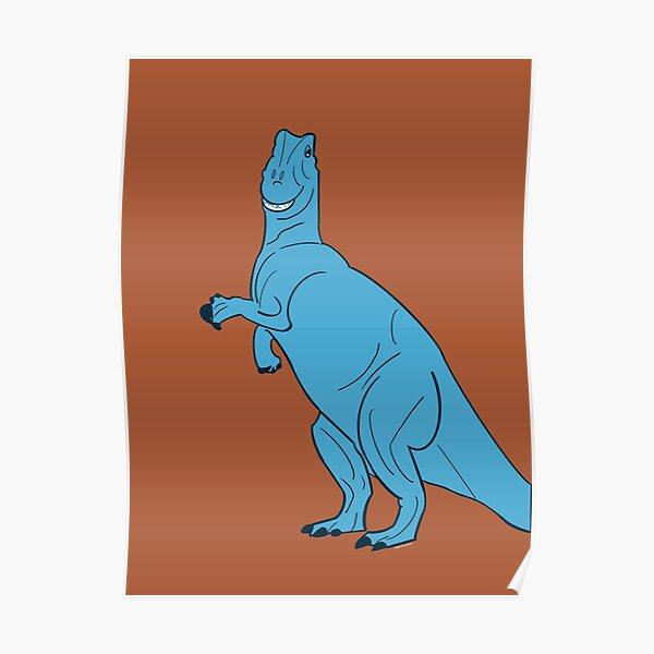 Derpy Dinosaur   T.Rex   Rex Toy Story Inspired Poster