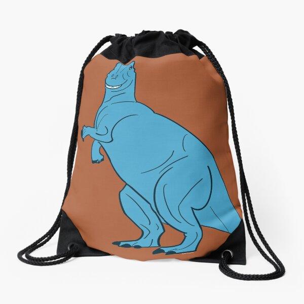 Derpy Dinosaur   T.Rex   Rex Toy Story Inspired Drawstring Bag