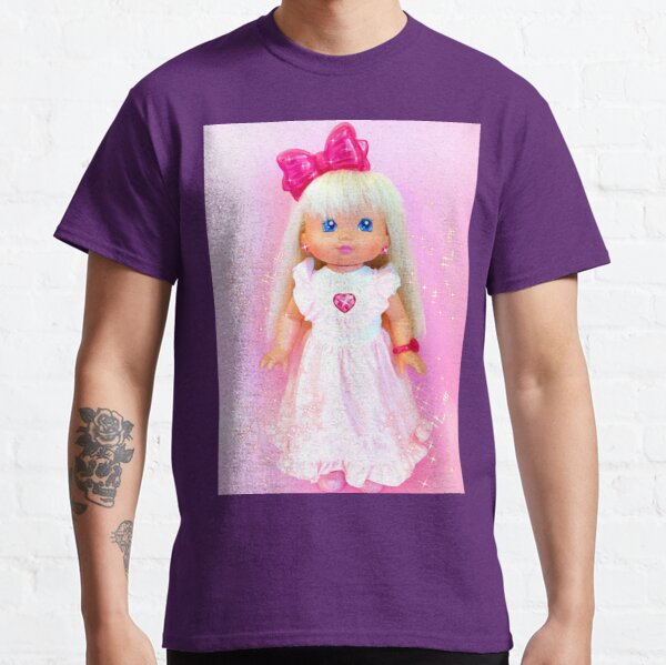 80s aesthetic PJ sparkles baby doll Classic T-Shirt