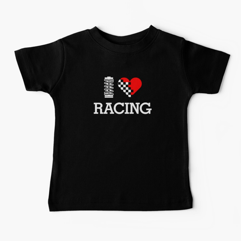 I Love RACING (2) Baby T-Shirt